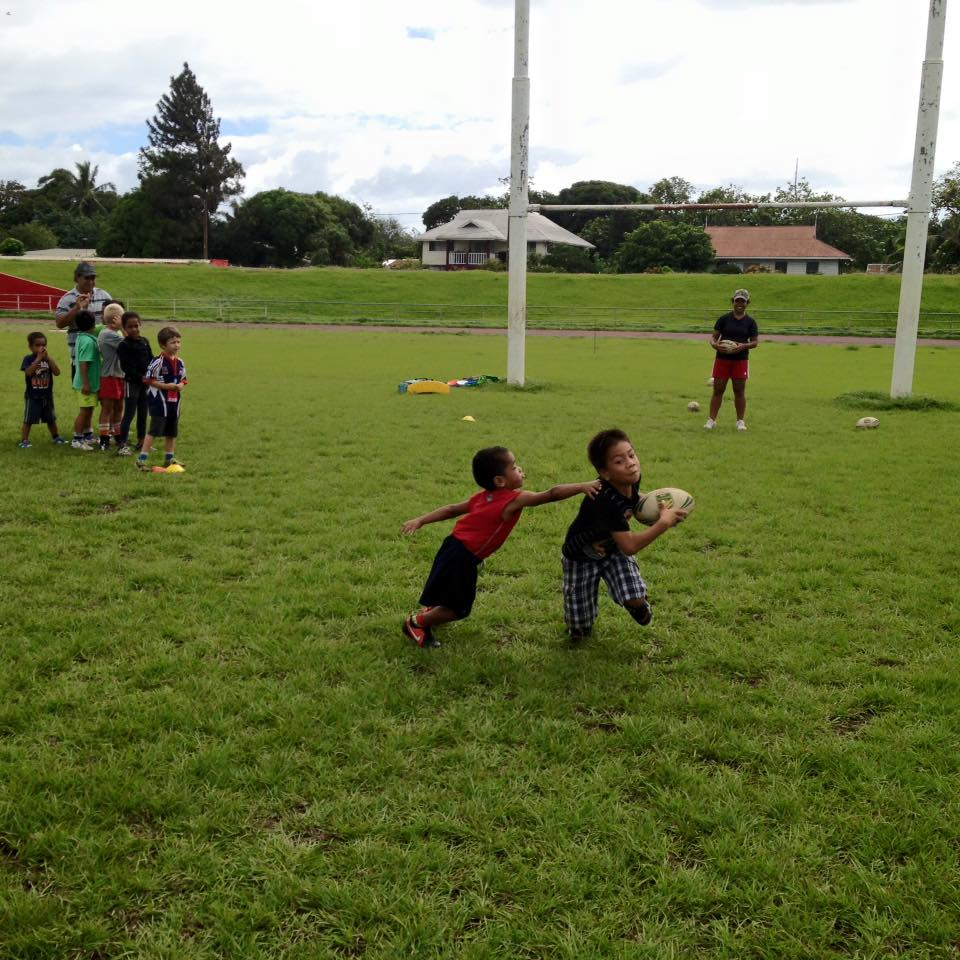 NRL Tonga Holds First Free Clinics