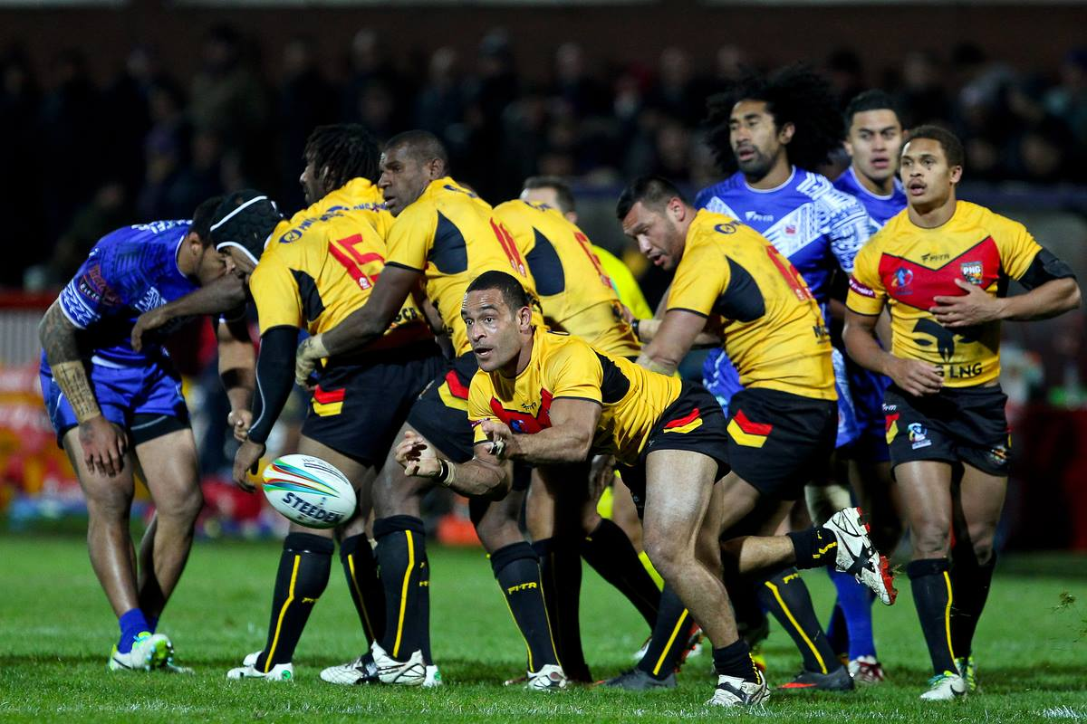 PNG name squad for Fiji Test Match