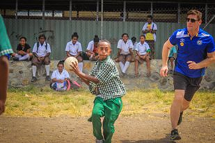 Rugby League program improving PNG