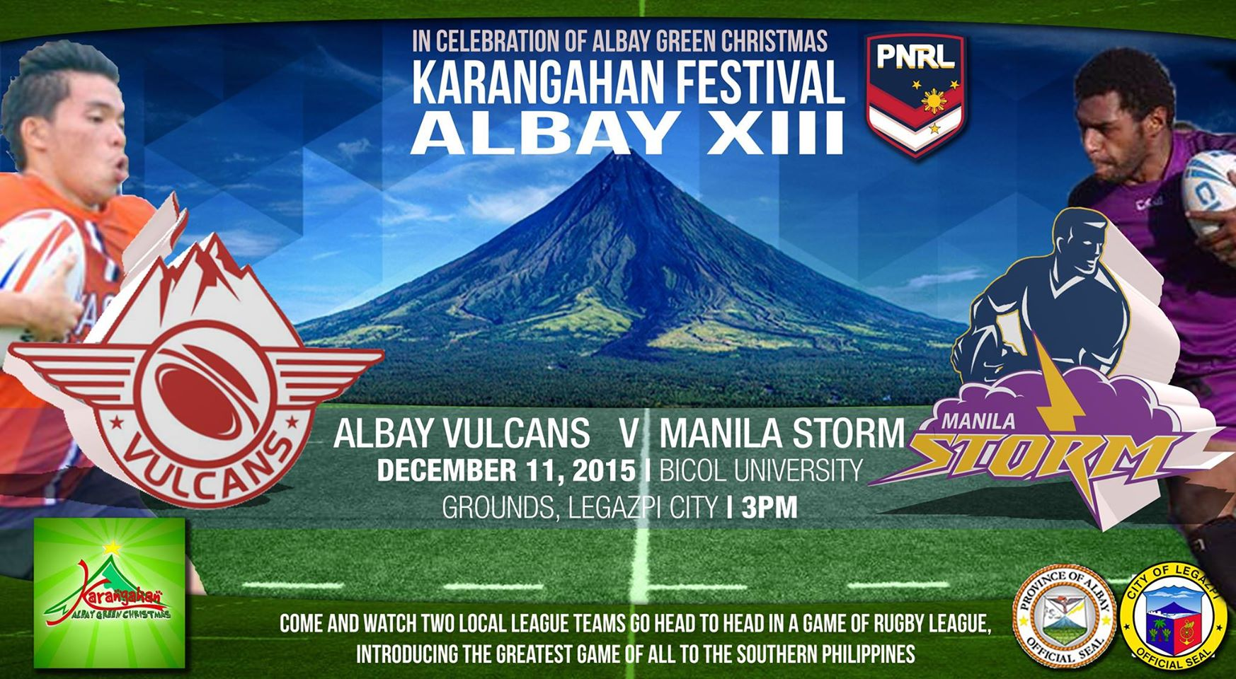 Rugby League heads to Albay