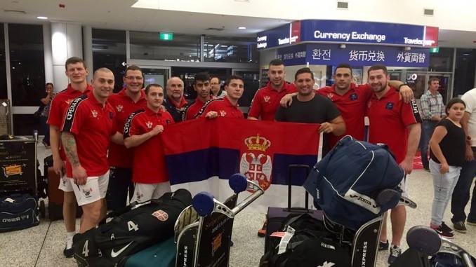 Serbia's inaugural tour of Australia