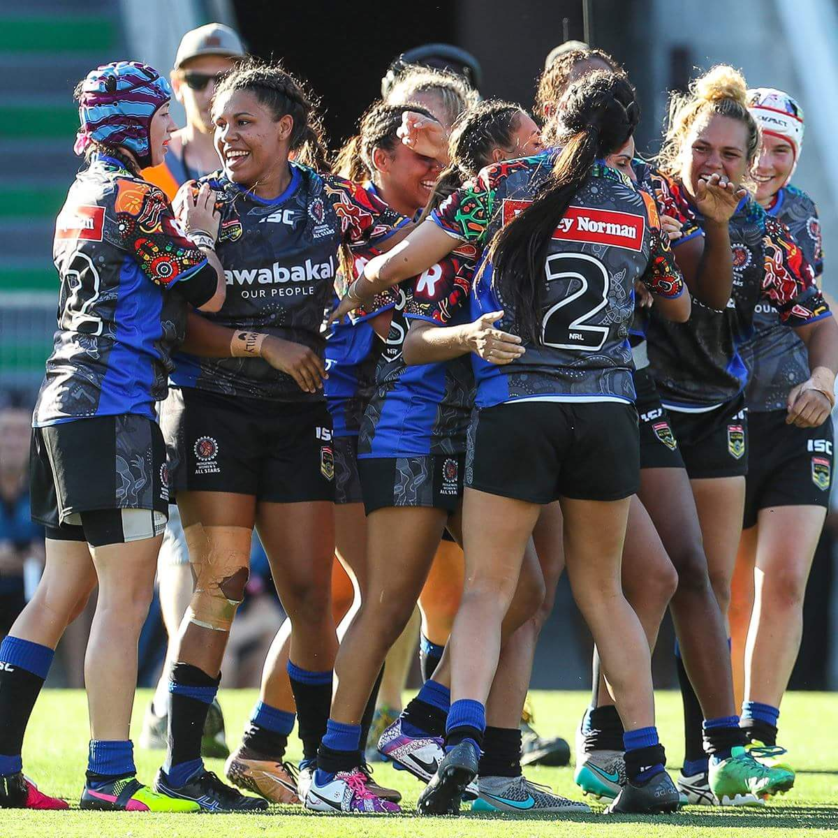 Indigenous Women Record Historic All Stars Win