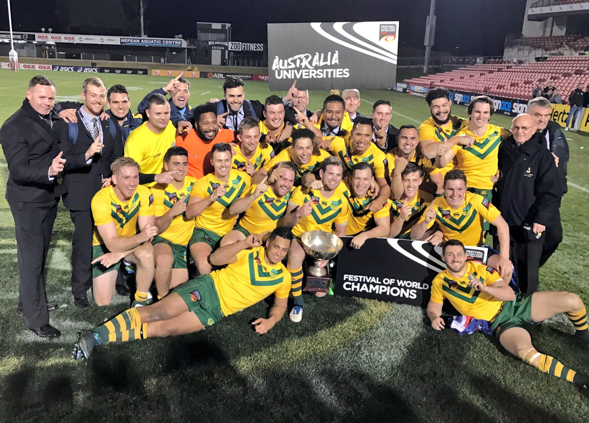 Australia claim sixth Universities World Cup title