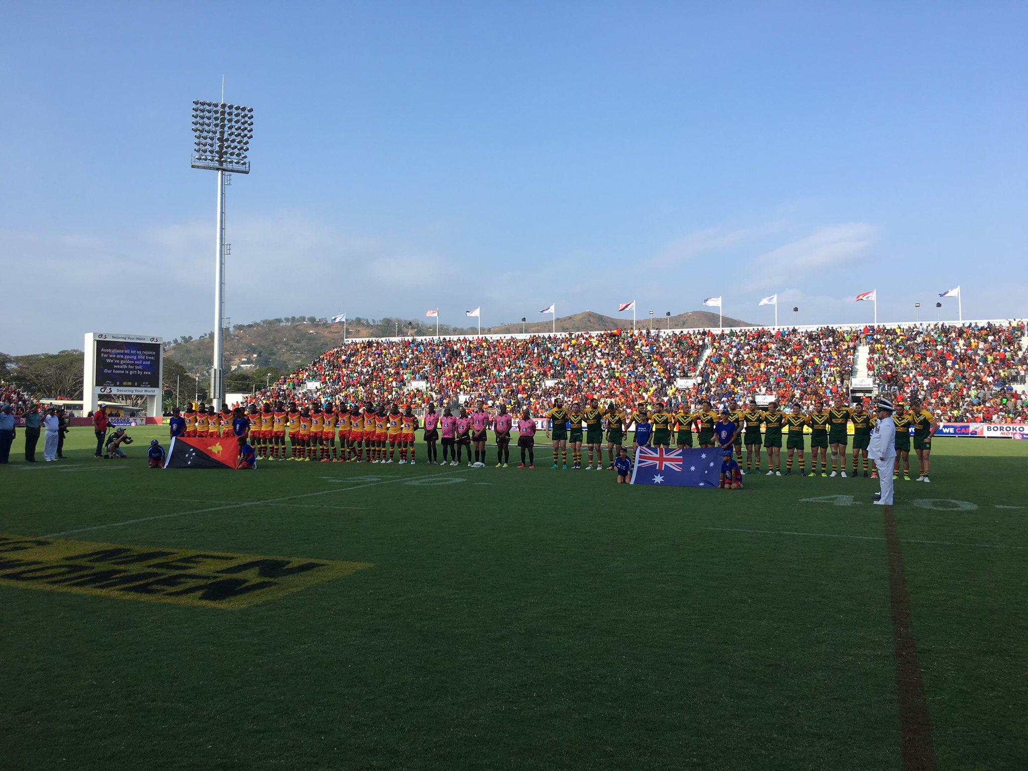 Auatralia Prime Minister's XIII overcome PNG Prime Minister's XIII