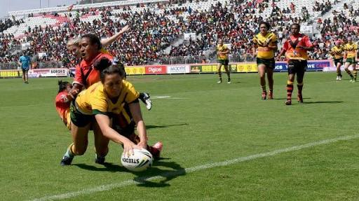 Jillaroos overpower PNG Orchids in Port Moresby