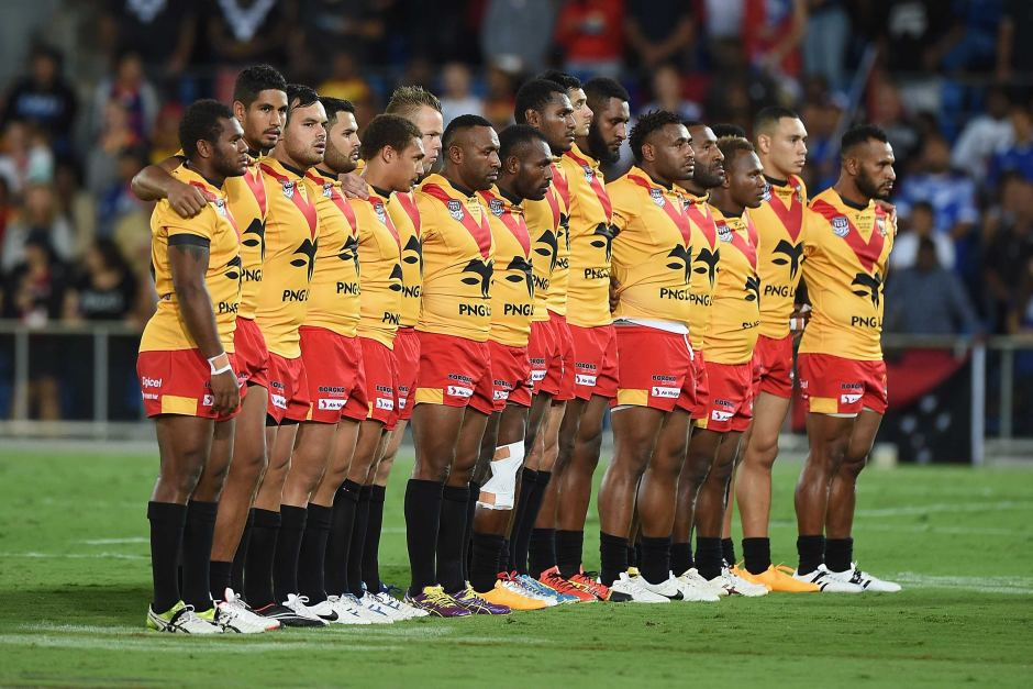Rugby League Png V Cook Islands