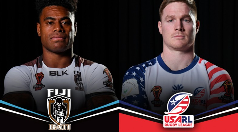 A Renewed Usa Team Beaming With Home Grown Players Will Take On Battle Ready Fiji In Townsville Saay Night And The Directions Of Both Sides Heading