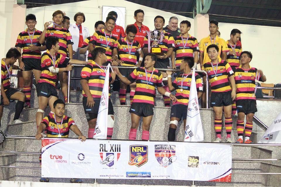 ASEAN Rugby League Association name inaugural board