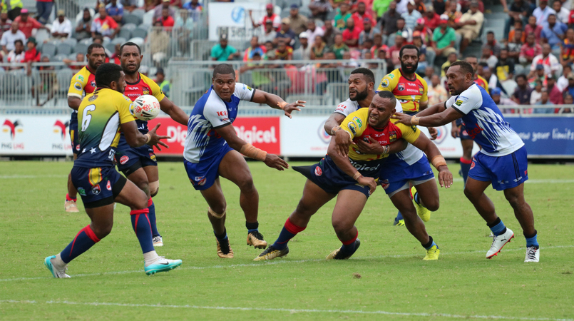 Wigmen hold off Isous in Digicel Cup