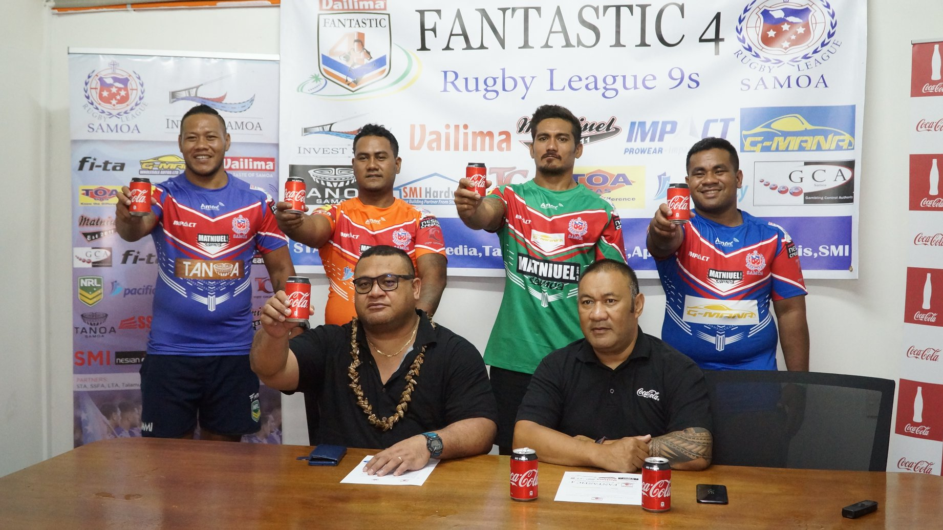 Apolima and Savai'i lead after first round in Fantastic Four 9s