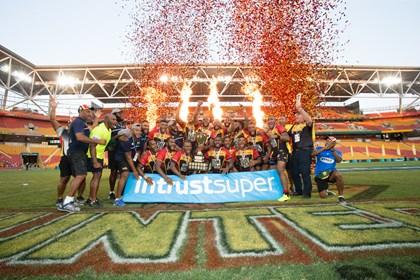 PNG Hunters secure Intrust Super Cup future
