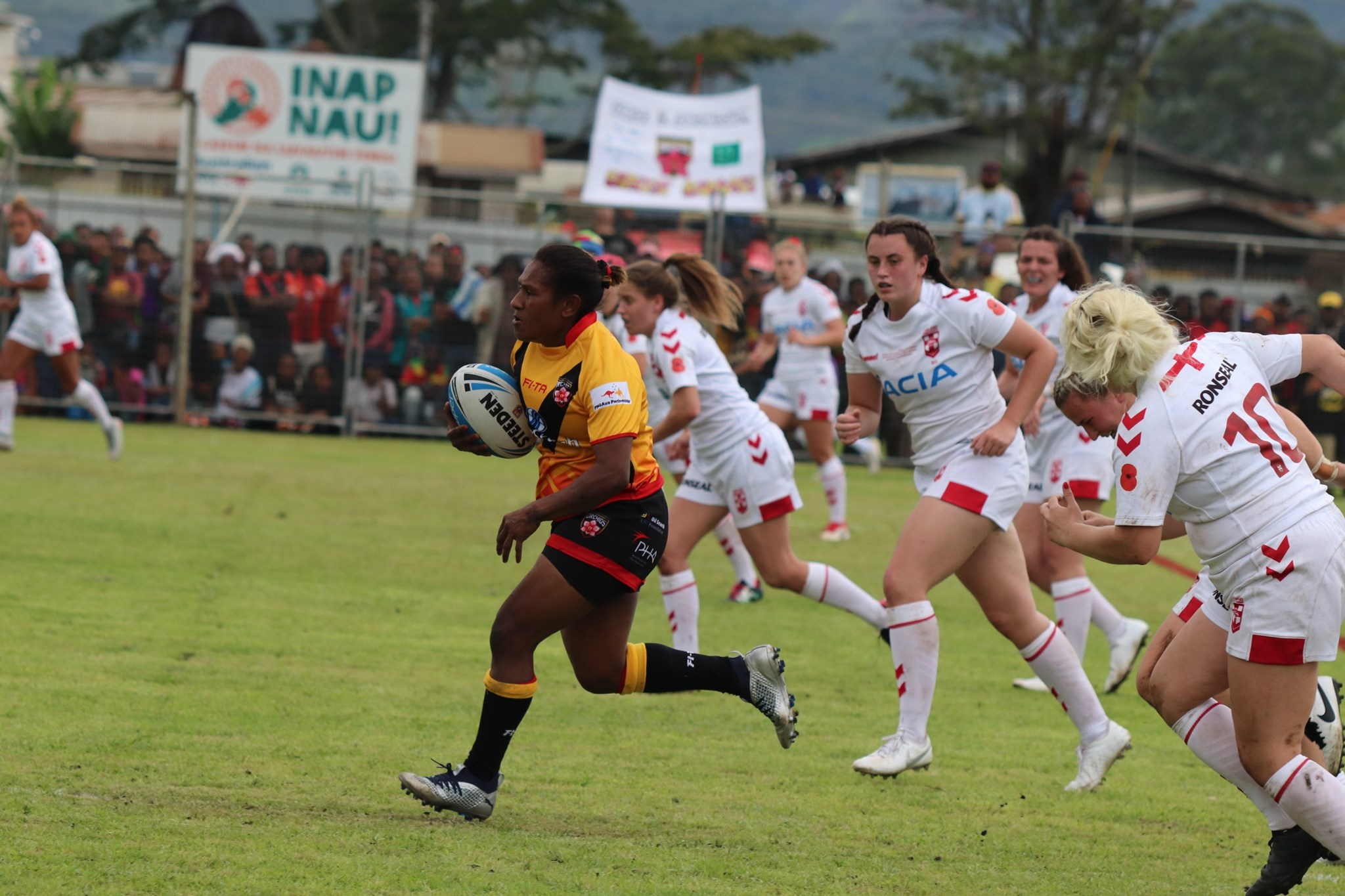 England Lionesses open tour with win in Goroka