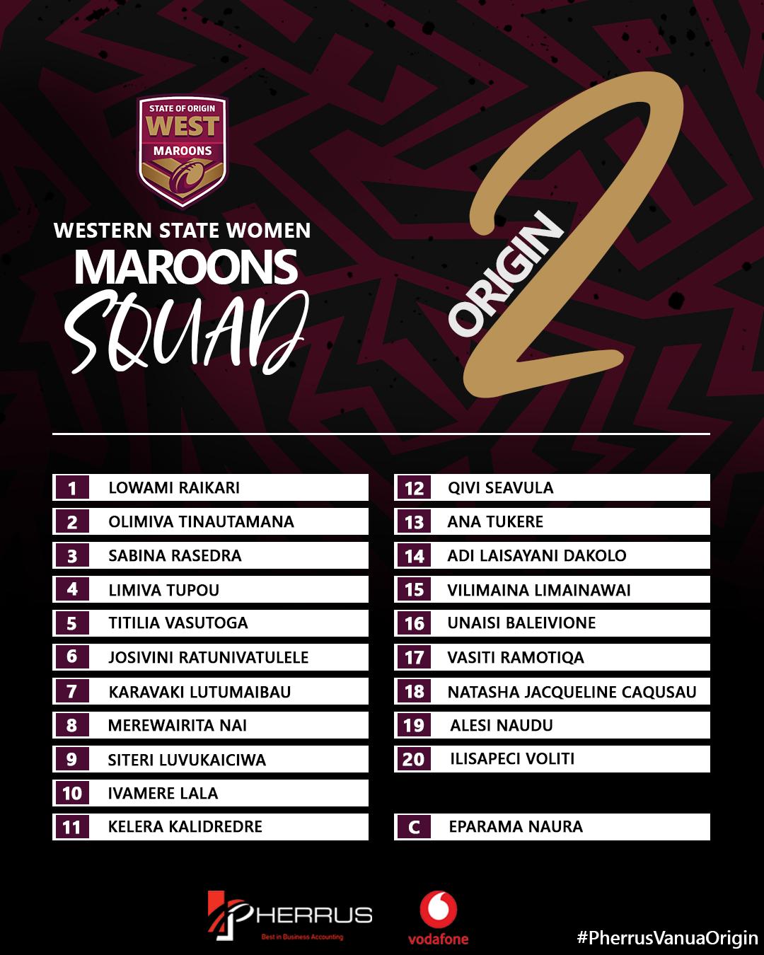 Maroons Women's Team