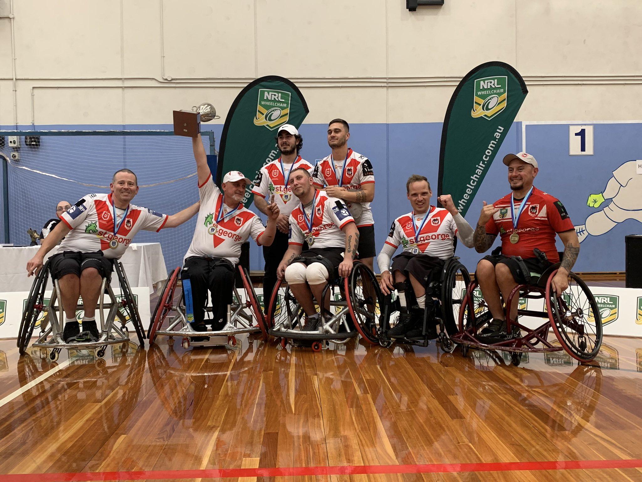 Dragons crowned three-peat NSW Wheelchair premiers