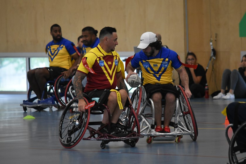 Country claim victory in Wheelchair Country v City thriller