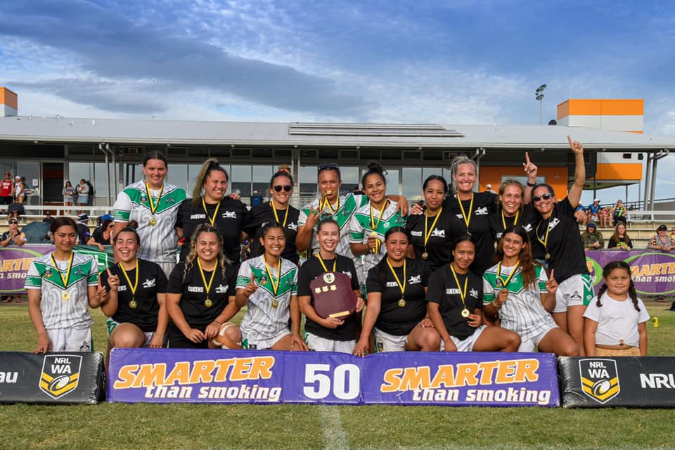 Aotearoa Queenz successfully defend their NRLWA Harmony Cup title