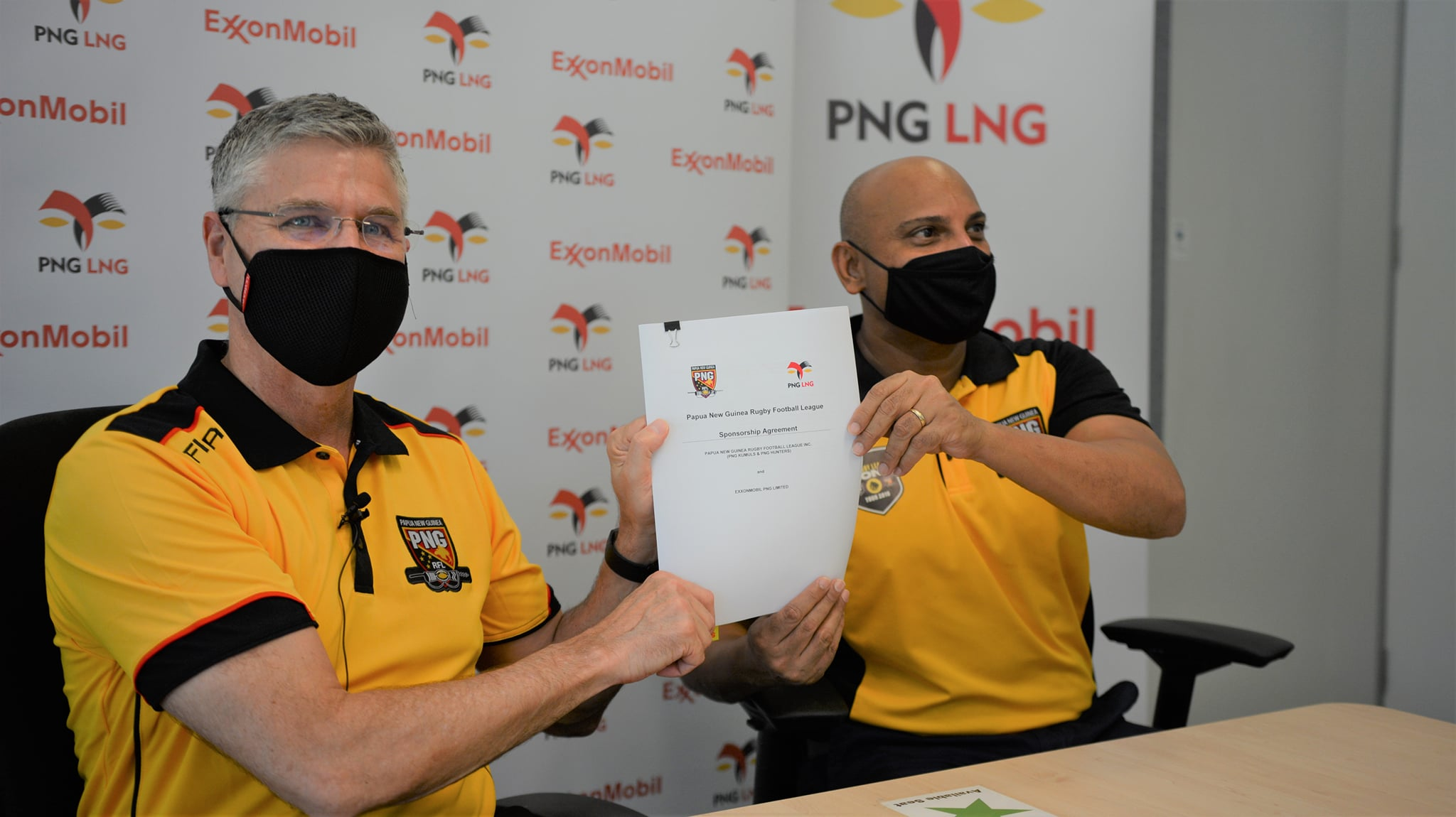 PNG LNG announces renewal of PNG Kumuls sponsorship