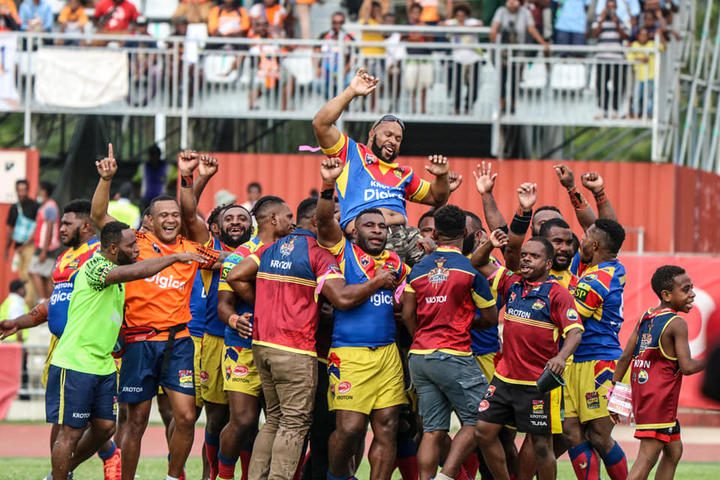 Hela Wigmen looking to move a home match to Wewak