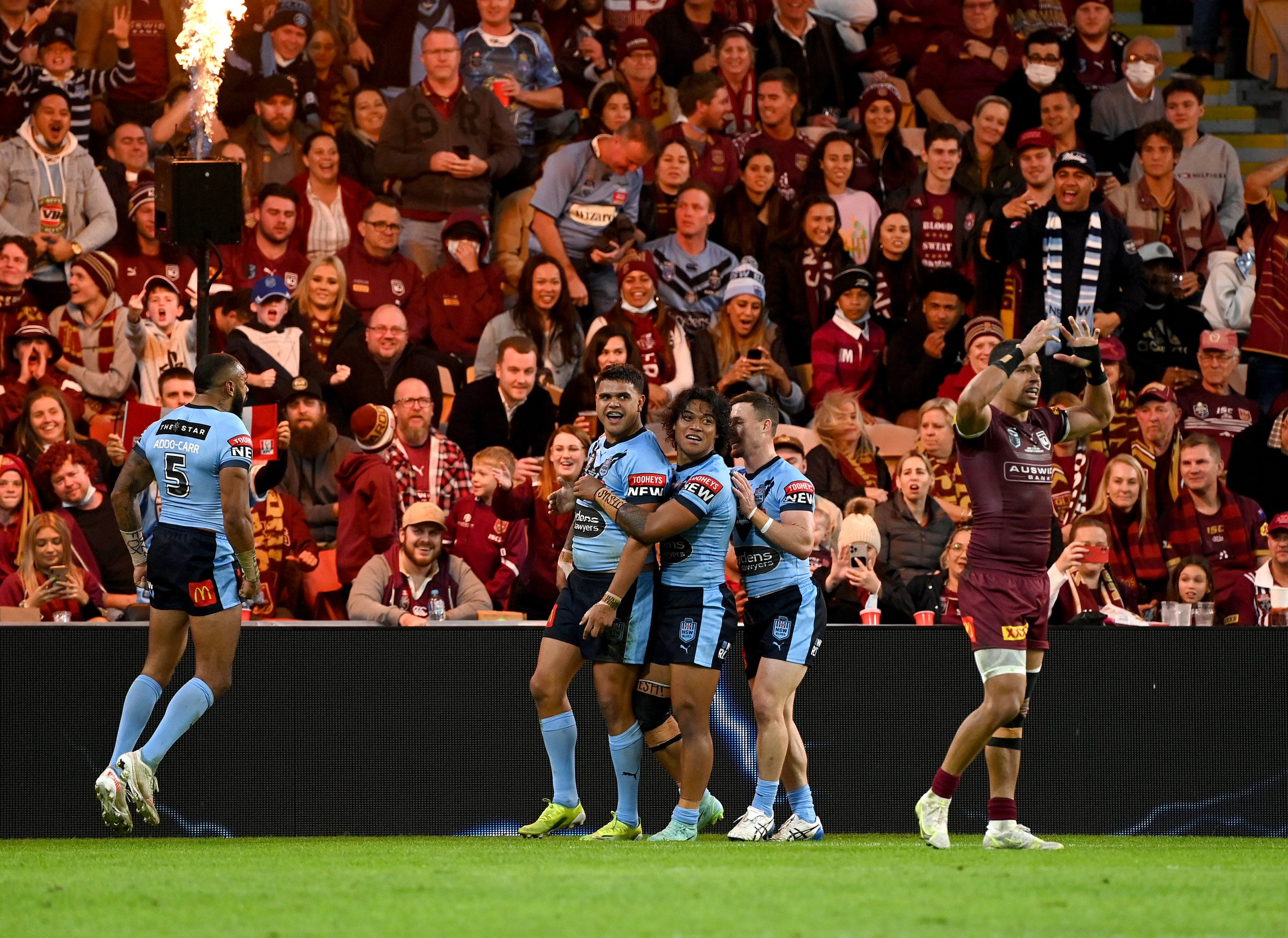 Most dominant ever: Blues seal series win over Maroons in style