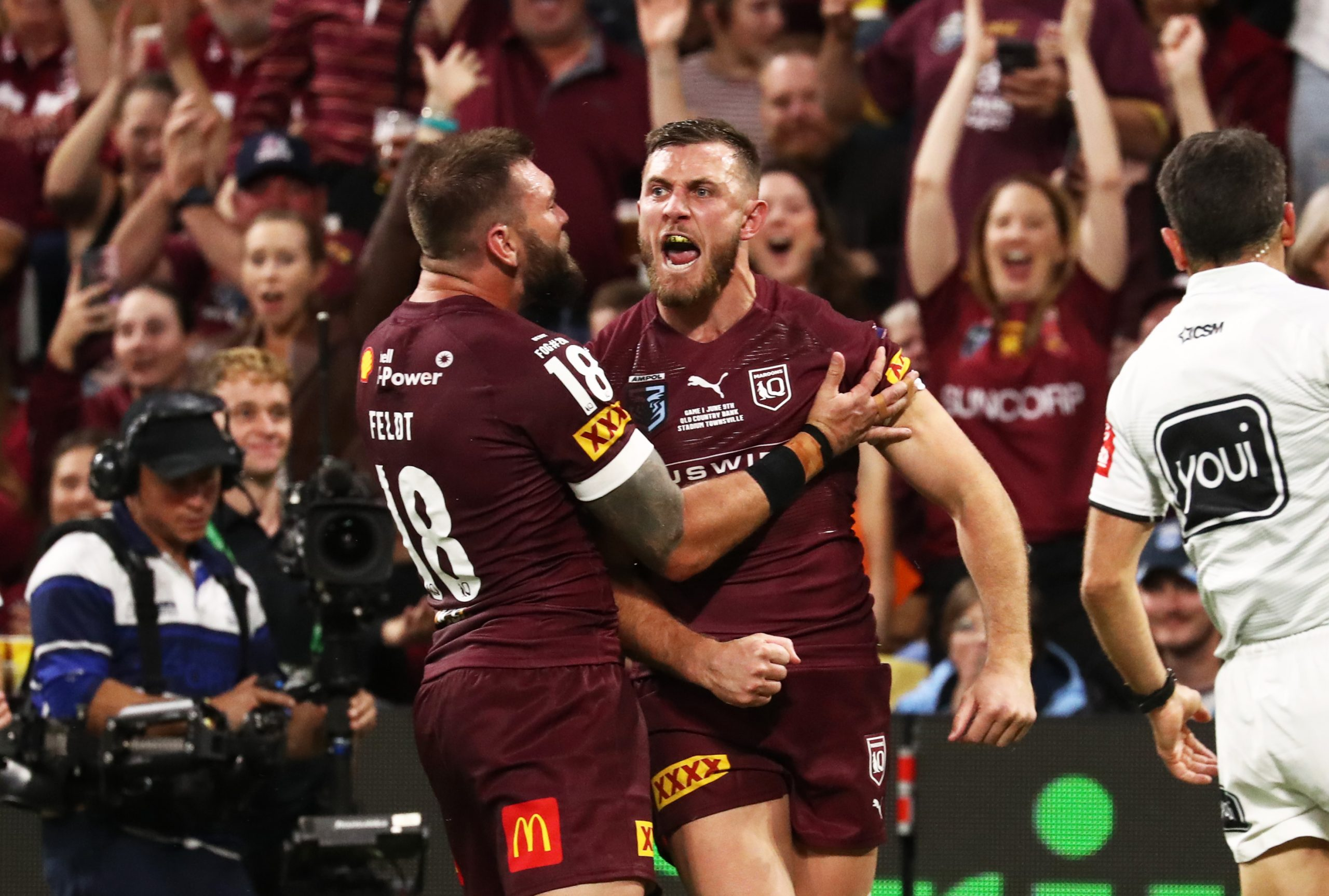 Queensland Maroons name team for State of Origin Game II