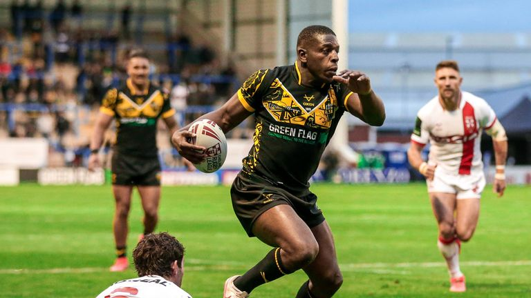 Combined Nations All Stars edge England at Warrington