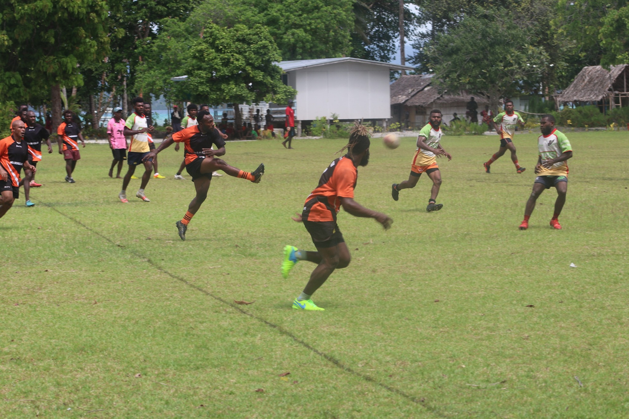 Kavieng and Tikana finish in a draw in Kavieng District Rugby League 9s Final