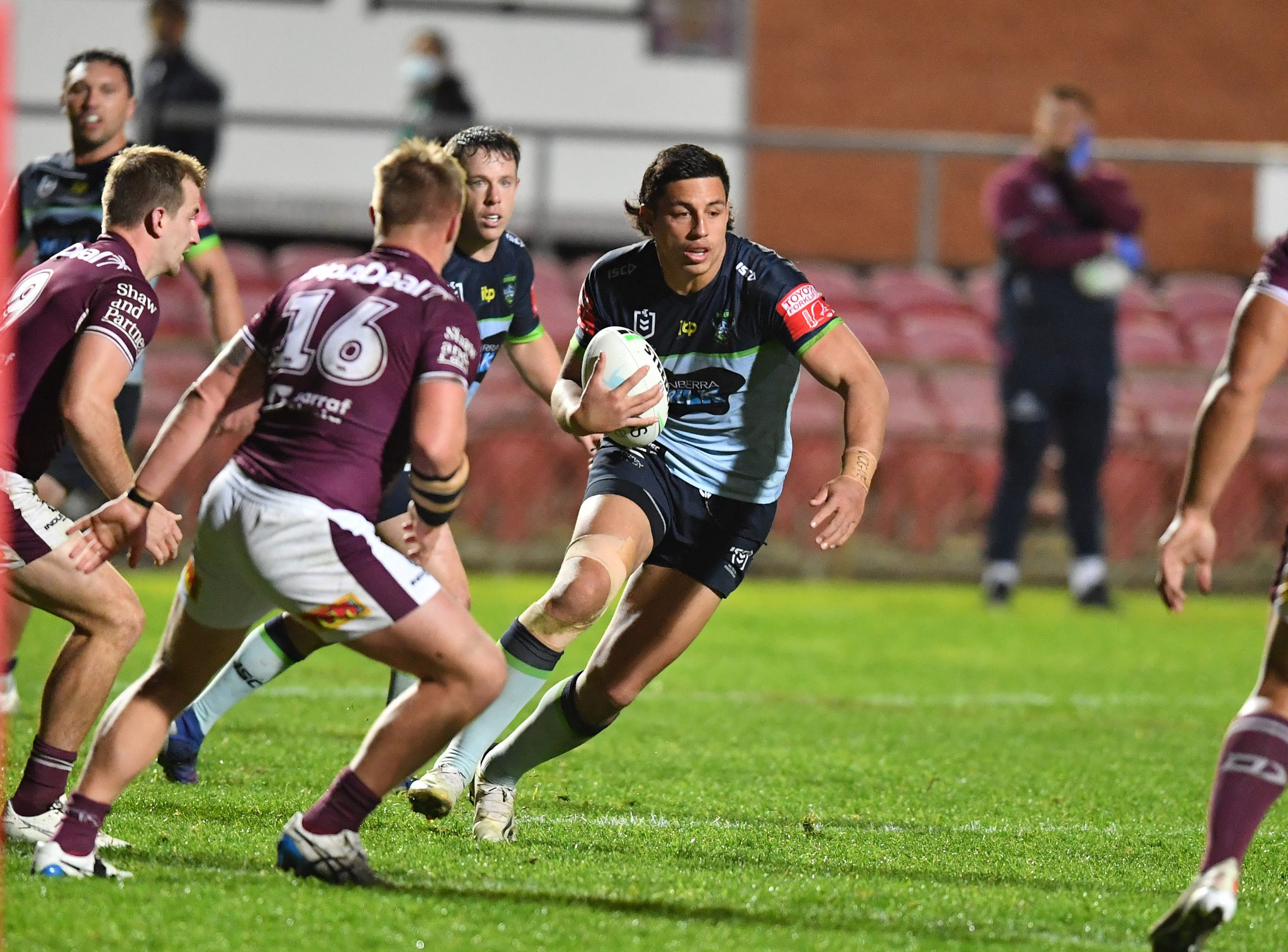 Starling, Tapine help Raiders roll over Sea Eagles