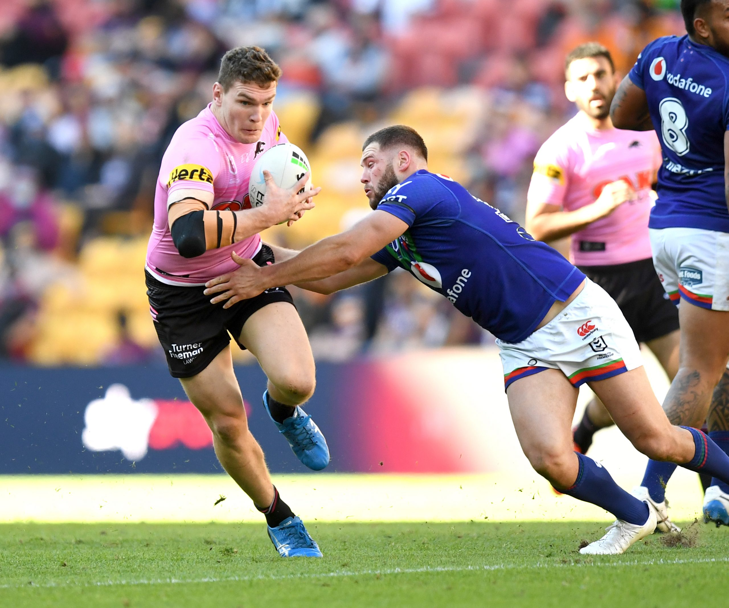 Panthers romp away as outgunned Warriors run out of troops