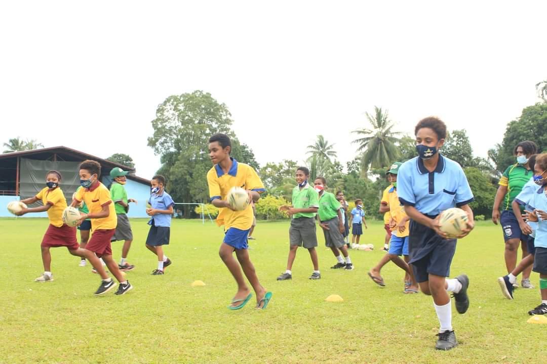 NRL expands community reach in Papua New Guinea