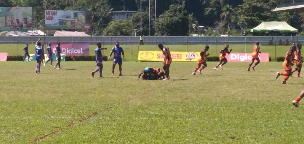 Tigers dominate visiting Isou in PNG Digicel Cup match in Lae